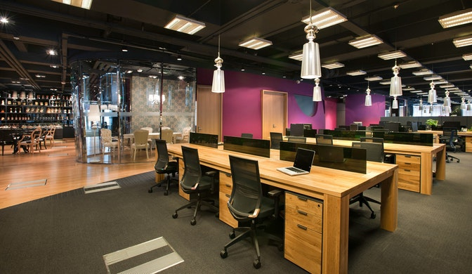 Balancing creative inspiration and comfort in a fast-paced environment section