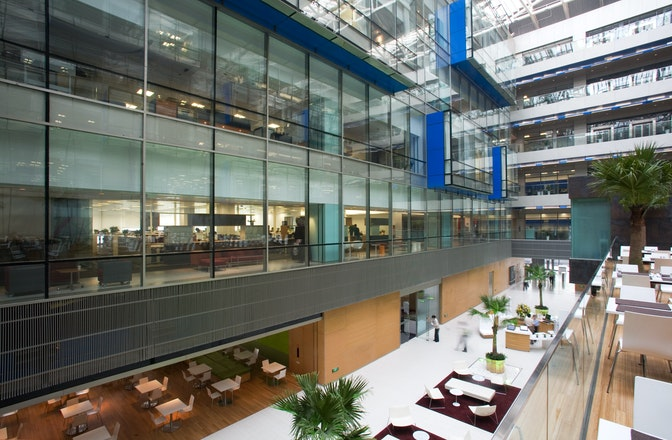Designing a new campus headquarters from the 'inside-out' section