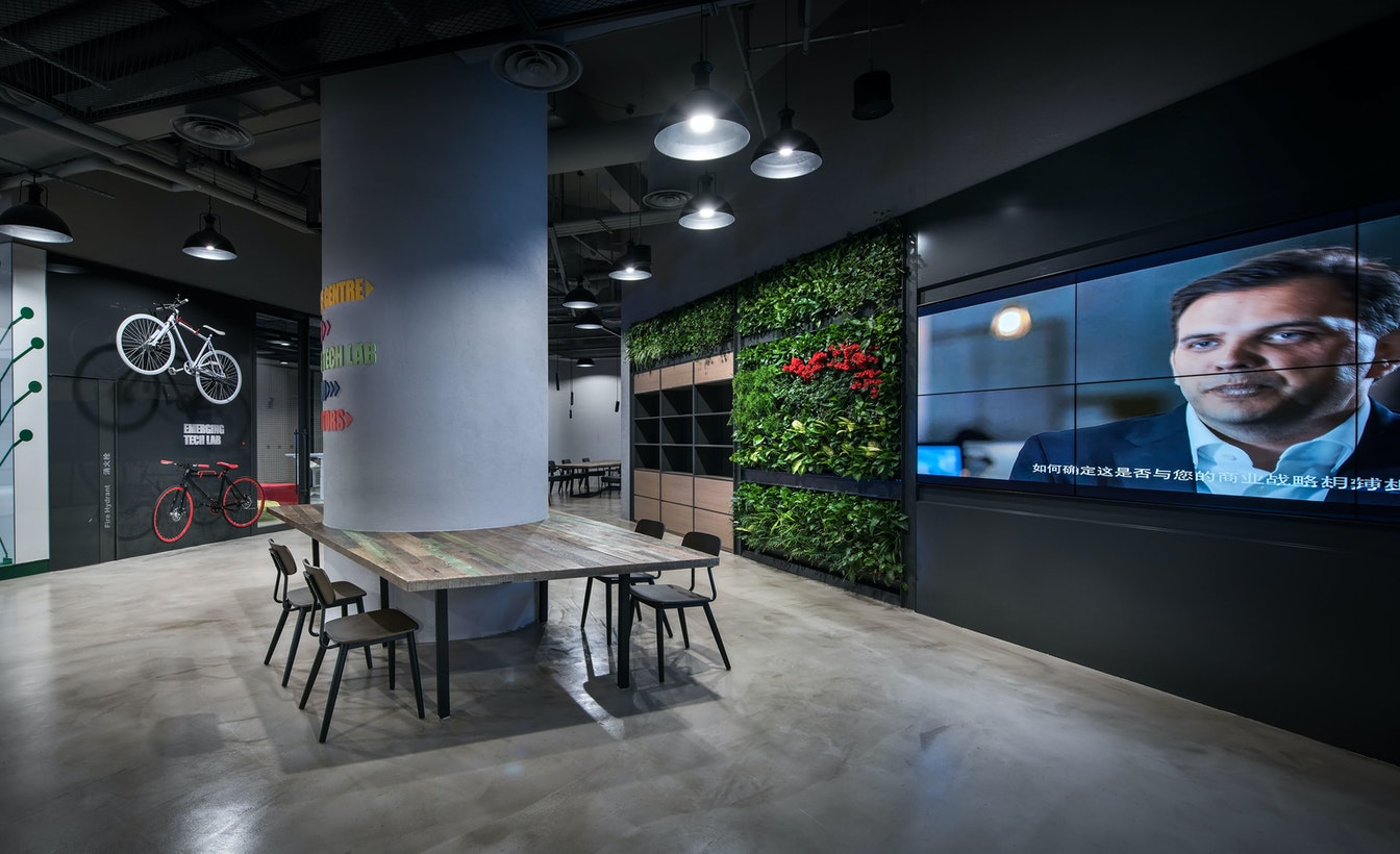 A fluid, flexible environment to encourage co-working