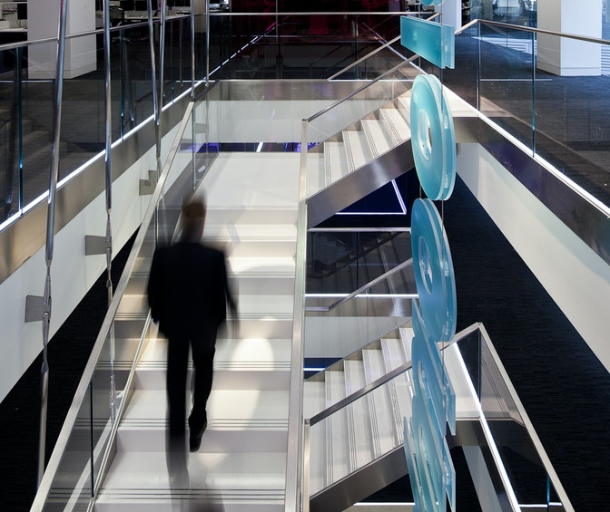Delivering measurable, sustainable workplace design, worldwide section