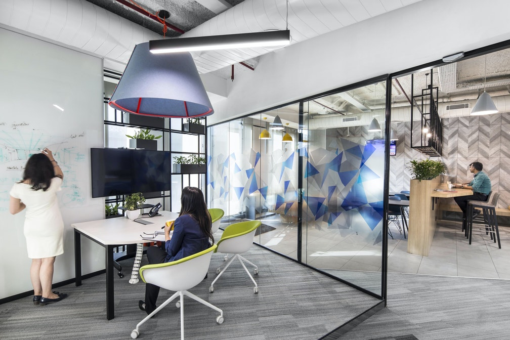 A benchmark workspace designed for innovators and leaders section