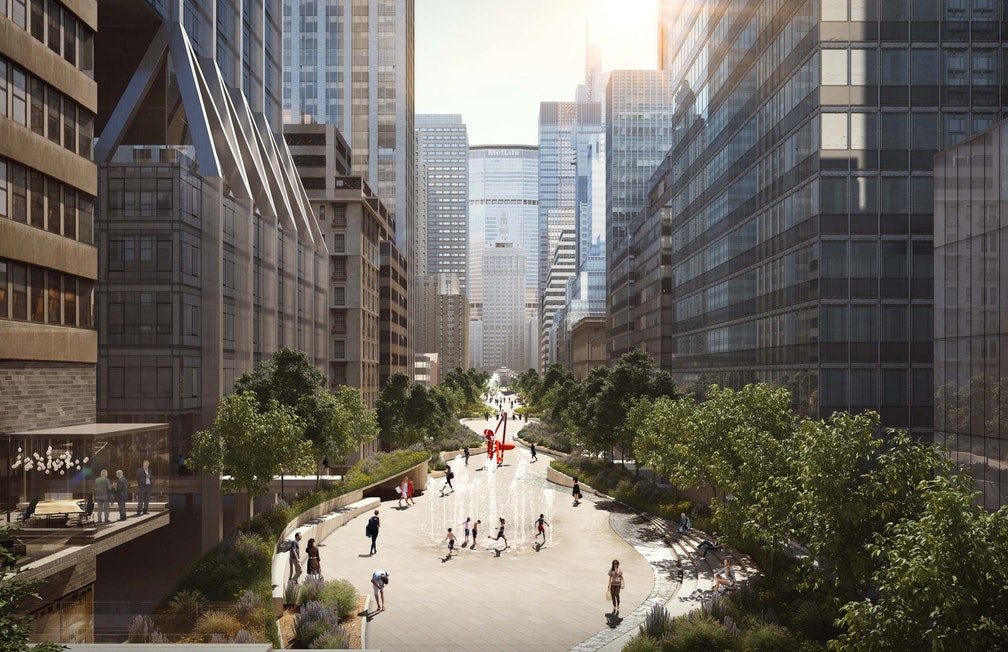 Elevating individual well-being to a city scale section