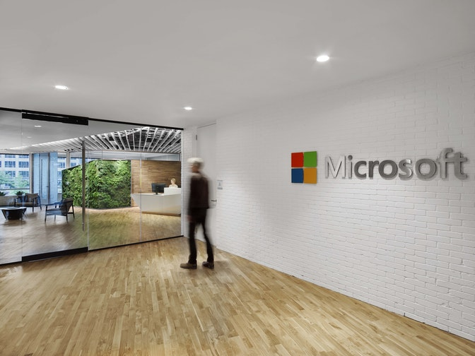 """Connecting future work behaviours with the """"One Microsoft"""" goal section"""