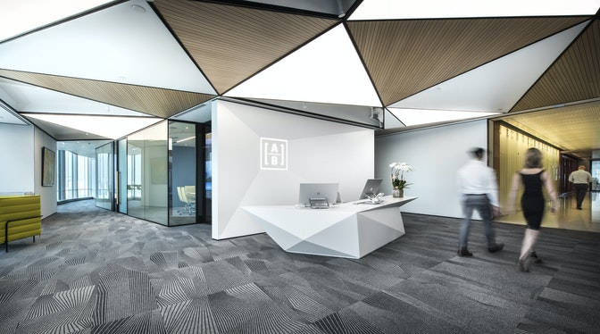Changing perceptions & enhancing mobility for a technology-driven workspace section