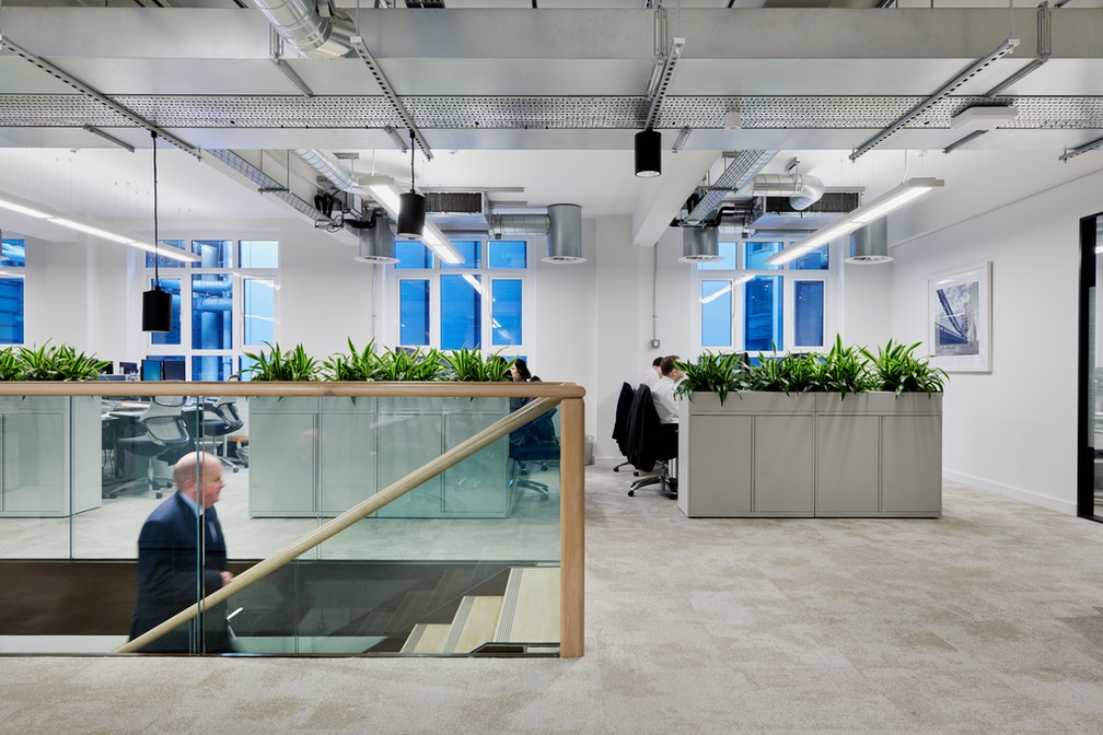 Leveraging a prime office location opposite Lloyd's of London section