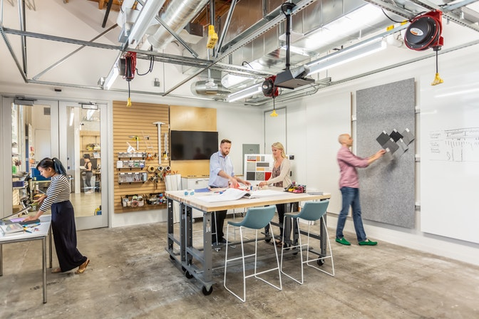 A workplace laboratory for ongoing experimentation & improvement section