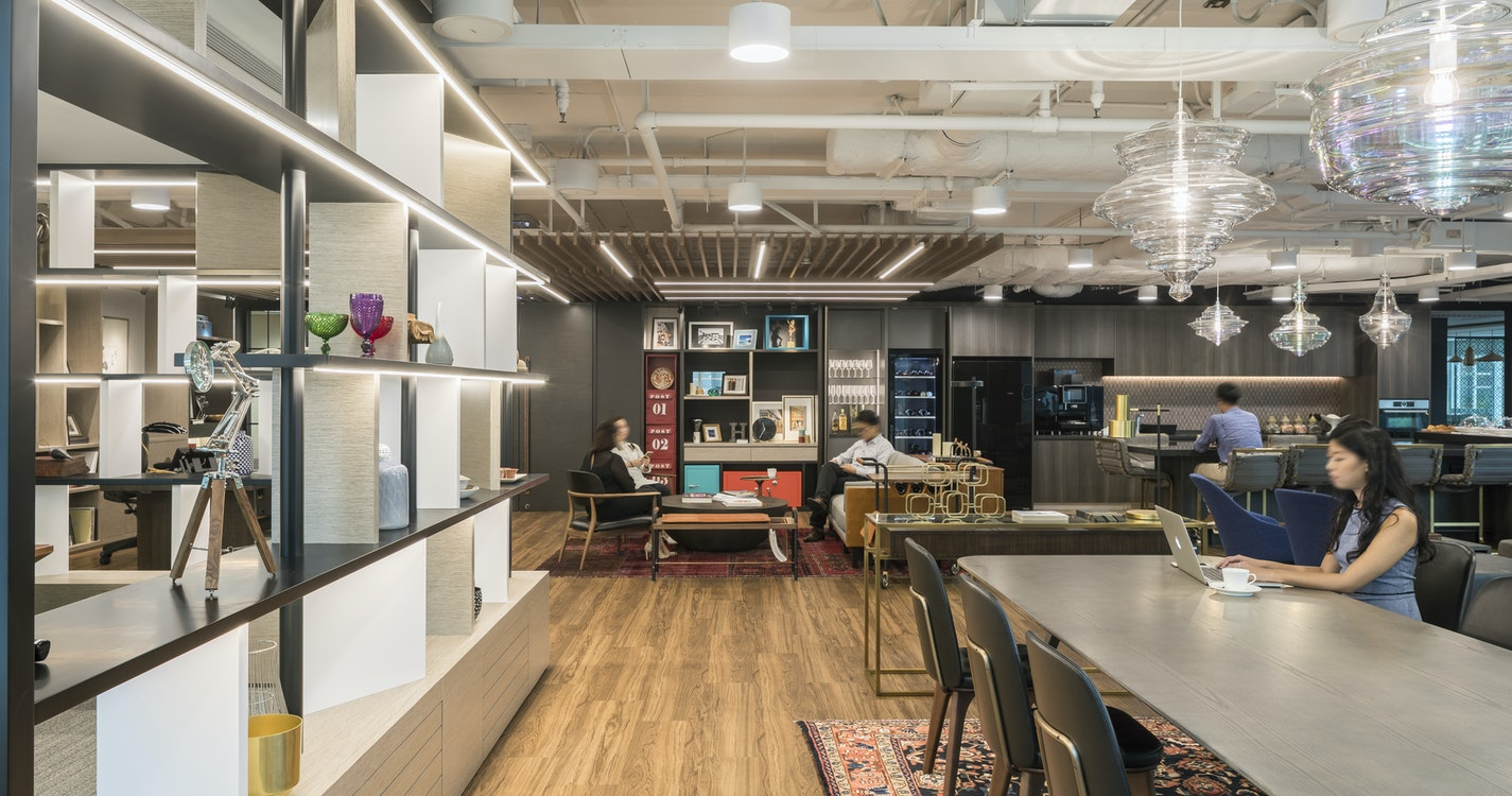 Blurring the lines between hospitality and the workplace in two Asian metropolises section