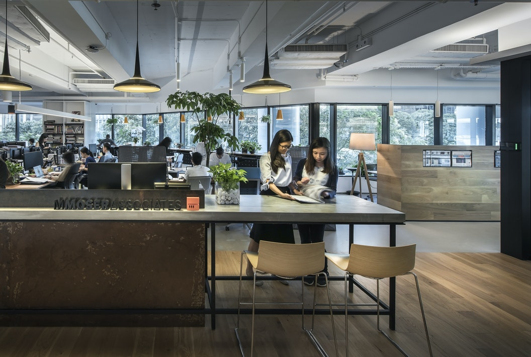 Our Hong Kong Office In Trends Commercial Design S Most Popular Features M Moser Workplace Design Transform The Way Your Company Works