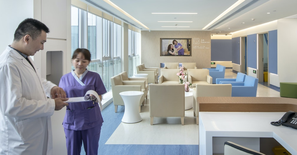 Designed to the highest standards of healthcare in China section