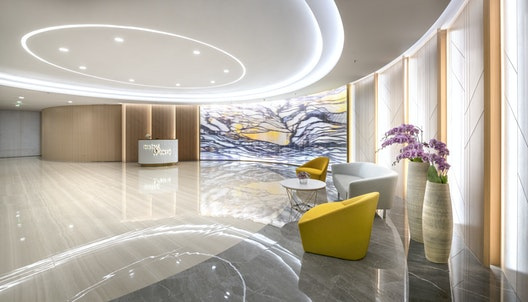 Bringing cutting-edge workplace design to Kunming's tallest building section