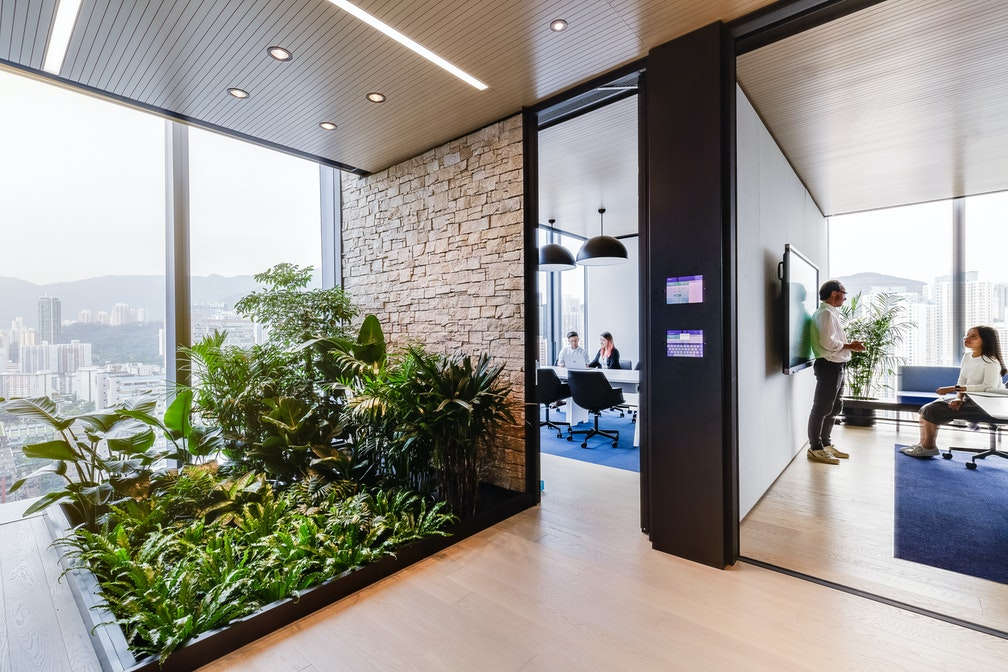 Paving the way for the workplace of the future section