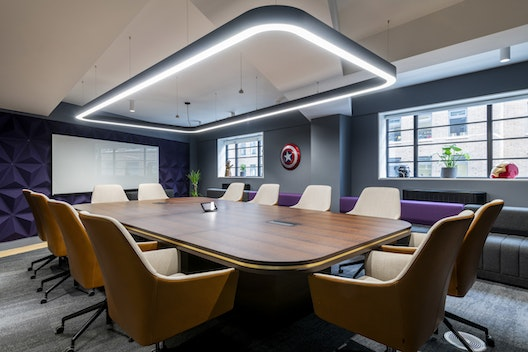 Recently completed - Amazon-owned Twitch's new London office