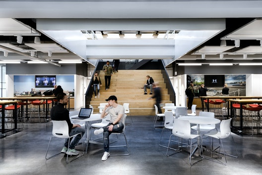Recently completed - Under Armour's 43,000 sq ft HQ in Amsterdam