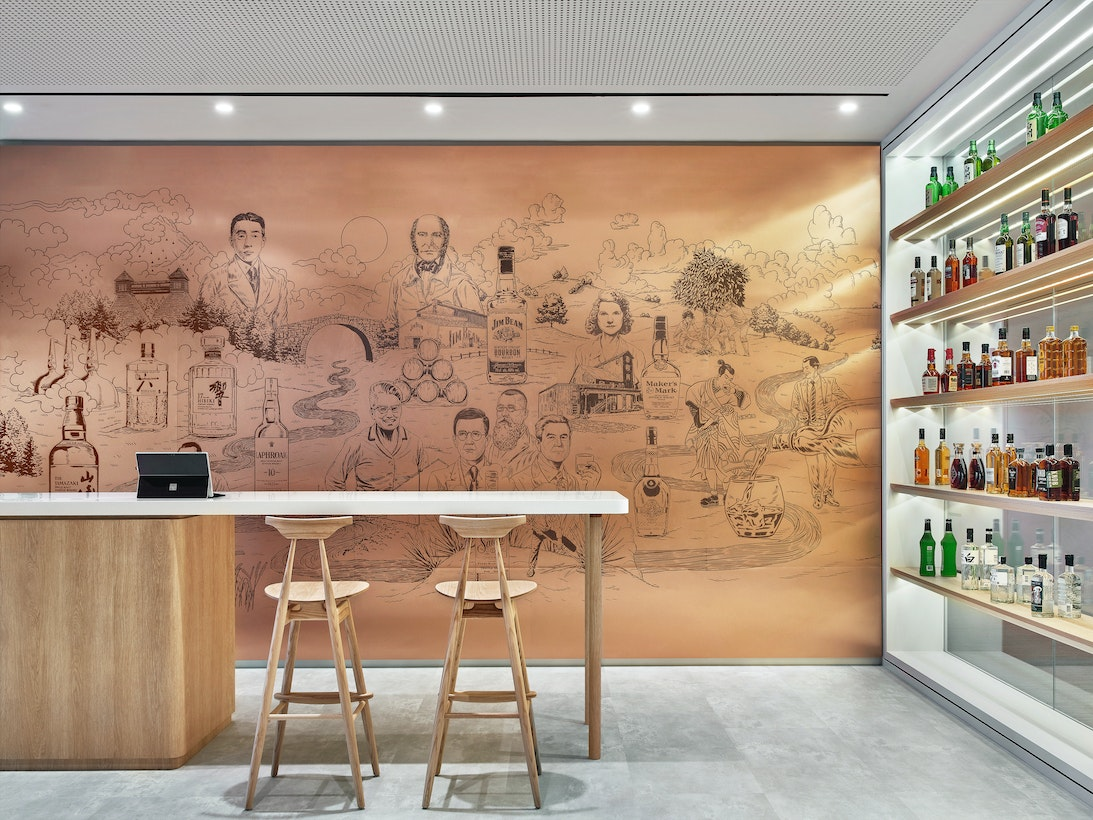 Bringing the multi-cultural history of a global spirits brand to life section