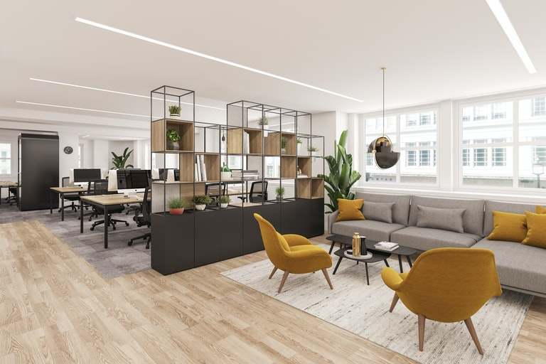 3D visualisation - Knotel, Jermyn St., London