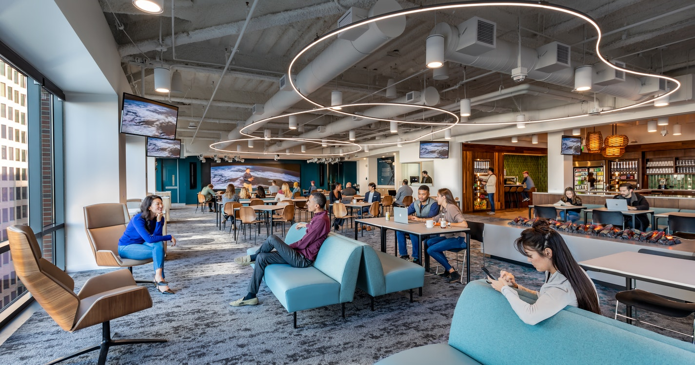 Updating an existing HQ to enhance connectivity and culture section