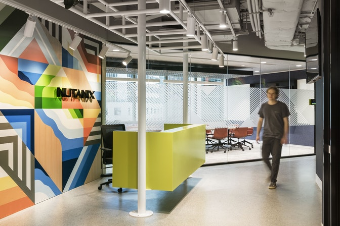 Inspiring disruption with a culturally engaging and vibrant workplace section