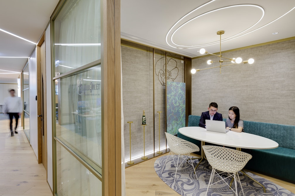 A cultural transformation that inspires conviviality at work section