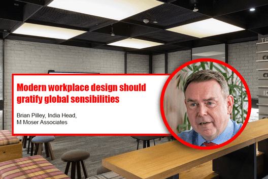 ACE Update interviews Brian Pilley on the evolution of workplace architecture section