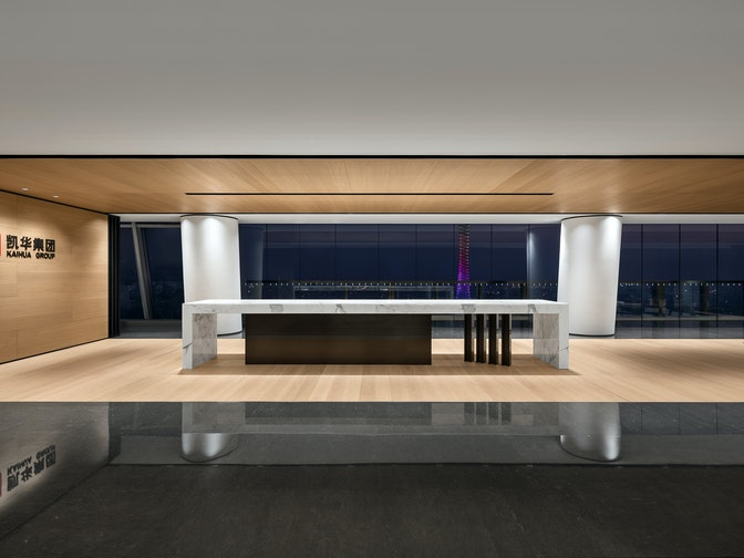 Image: uploads/2020_05/Kai_Hua_Group_Guangzhou-Workplace-Interior-Headquarters-Reception-01.jpg