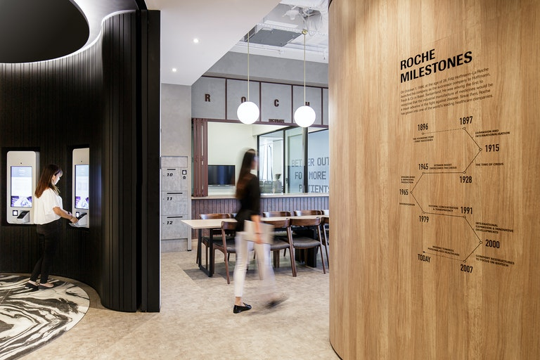 How design & technology will reshape the future workplace section