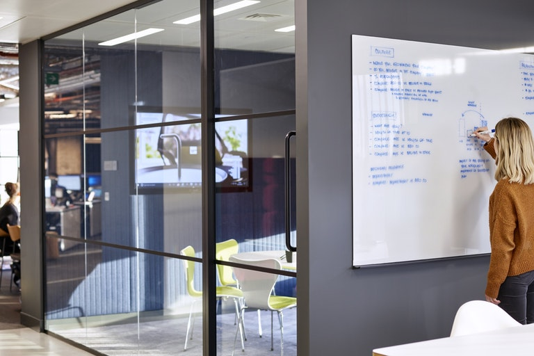 Preparing for the new normal in office design section