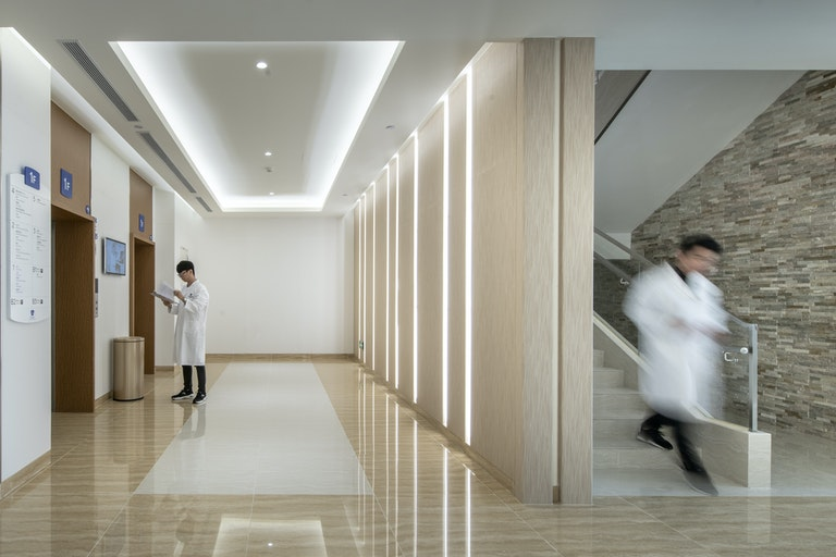 What can workplace design learn from healthcare? section