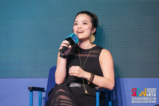 Sharing future workplace concepts and insights at Shenzhen Creative Week section