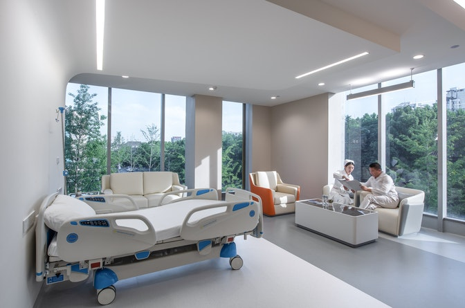Providing high-quality medical services in an extraordinary setting section