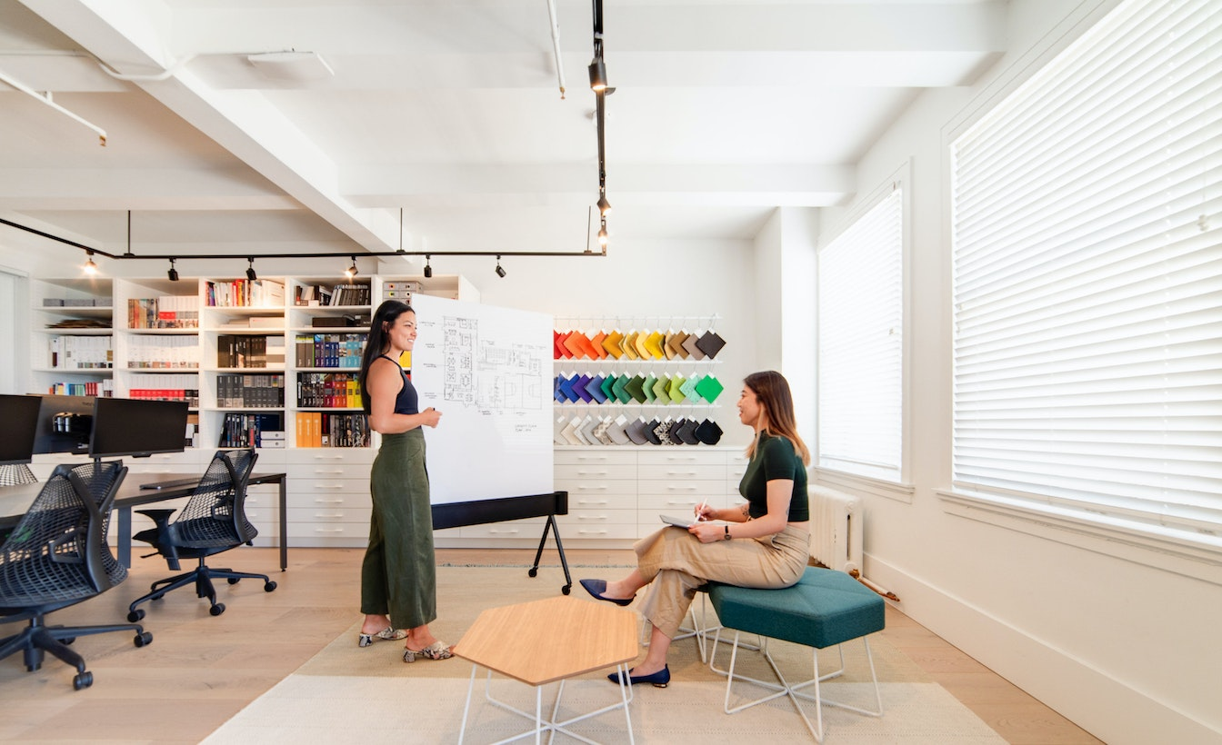 """The reconfigurable """"living lab"""" modified to suit the requirements of the individual or team."""