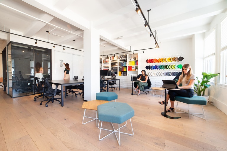 Rethinking the future workplace section