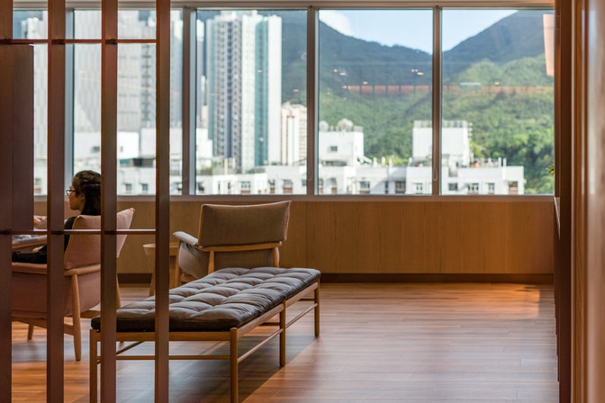 Improving mental wellbeing with the world's first WELL-certified meditation studio section