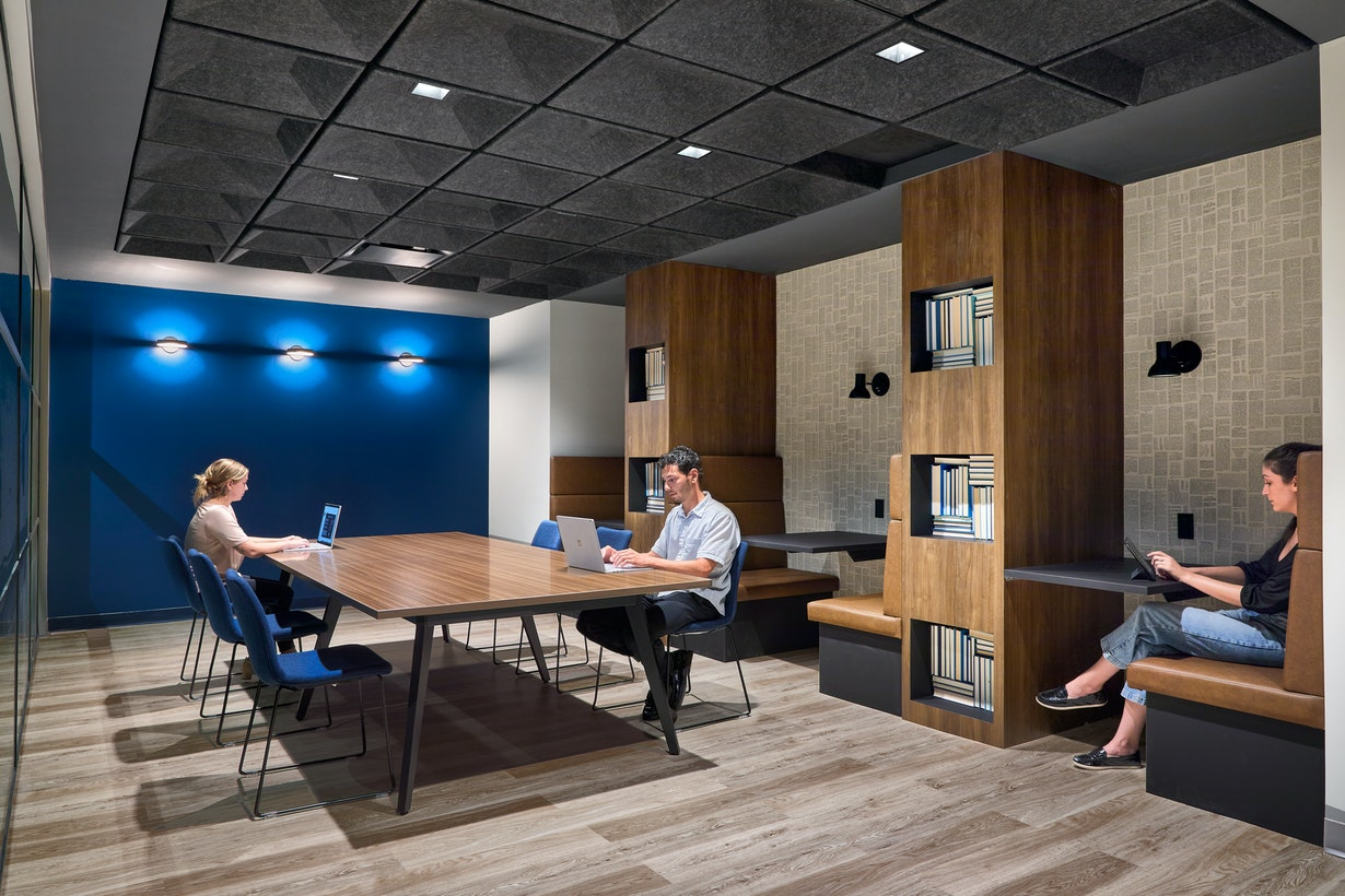 Uniting culture and brand in a home-inspired vertical campus section