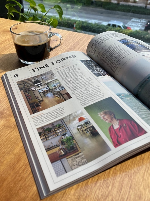 Monocle features Moira Moser as one of Hong Kong's creative founders section