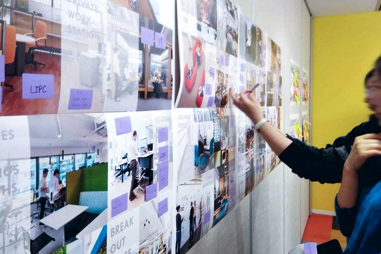 Covestro staff have been engaged to share ideas relating to the strategy and design process of their office relocation