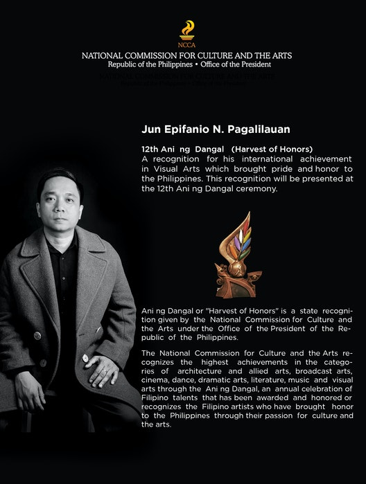 Jun Epifanio Pagalilauan recognised with two awards for excellence in architecture section