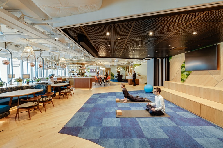 Designing a health-oriented workplace to support wellbeing needs at Pernod Ricard