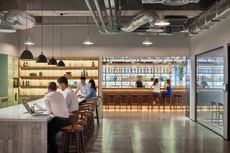 Diageo's Singapore space delivers an engaging and immersive brand experience to attract talent.