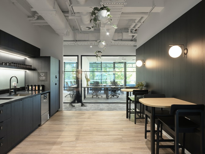 A flexible coworking environment to support Canberra's business community section