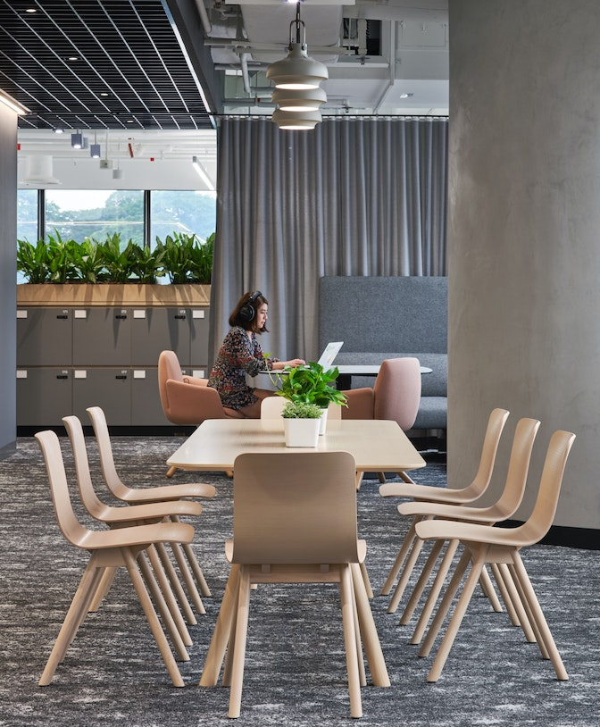 Fostering creative expression in a dynamic and playful workplace section